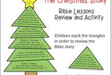 Christmas lesson