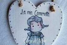 """Targhette """"La mia Cameretta"""""""