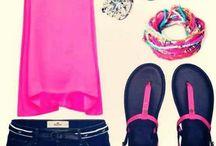 варианты для комбинирования одежда-цвет