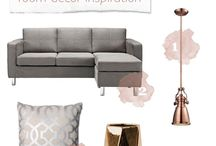 Copper / grey inspiration