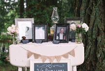 Deko bei der Hochzeit ♤♧