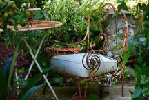 Old outdoor furniture