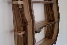 móveis de tronco