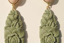 Bijouterie Fantaisie inspiration Art Déco & jade - Art Déco & jade inspired Costume Jewellery