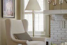 Lounge Room | Window Treatment Inspiration / Inspirations to help with selecting window treatments for the Lounge Room. Whether it be drapes, sheers, pelmet boxes, valances, roller or roman blinds.