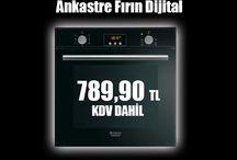 Hotpoint Ariston FKQ 637 J K HA S Ankastre Fırın Dijital /  http://goo.gl/BaABn3