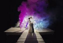 Wedding smoke bomb