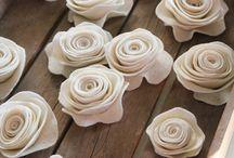 Flowers/craft / Hand made flowers