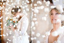 Mariage hiver / Flocons