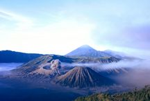 mountain / down