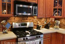 kitchen house redo / by Layne Thompson