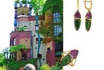 vienna / new jewellery #pavlov #gold #jewelleryhouse #jewelry #bijoux #ジュエリー