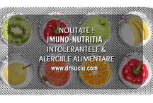 Imunonutritia, intolerantele si alergiile alimentare