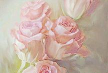 Rosas para imprimir