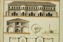 """Mauro Guidi / Mauro Guidi, architetto e cronista cesenate tra '700 e '800, è noto soprattutto per la cronaca manoscritta """"Giornale"""" e per undici grandi Atlanti. Si tratta di oltre mille disegni e progetti di edifici civili e religiosi,  in gran parte mai realizzati. In particolare, l'atlante 48 - Cesena Nuova - è tutto dedicato all'utopia di """"un'altra Cesena"""", una città ideale che ignora quella esistente alla quale si sostituisce.  http://www.comune.cesena.fc.it/flex/cm/pages/ServeBLOB.php/L/IT/IDPagina/20113"""