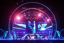 Felles konserter,store arrangementer, etc / Her legger dere inn relevant stoff til pågående oppgave, - konsertscene