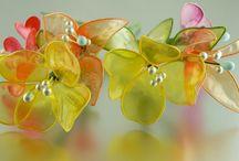 zselatin virágok