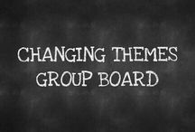 ":: CHANGING THEMES GROUP BOARD :: / Welcome To CHANGING THEMES GROUP BOARD. New Theme Will Be Picked Weekly. Add As Many Pins As You Want. Add The Pin ""CHANGING THEMES GROUP BOARD"" Pin When You Are Finished With Your Set/Group Of Pins. Please Remove All Text Under Pins. Thank You. Message Me If You Want To Join. Message Me If You Want To Pick Our Next Theme. COUNTRYMOM. This Week Let's Do... Boarding House. Room And Board Vintage Style."
