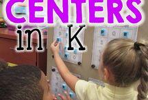 centers in kindergarten