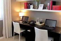 Office ideas / by Kathy Gene Banff