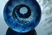 Paper weights Aquatic themed / Contemporary paperweights by Stephen Foster