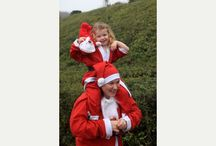 Eden Project Santas on the Run 2015 / Festive fun at the Eden Project, St Austell