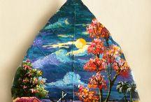 Bodhi leaf art