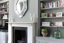 Fireplace alcoves