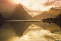 New Zealand / This prosperous Pacific nation - not much larger than Britain - has a population of only 4.3 million. Among its wild, deserted landscapes, it boasts sweeping beaches, ancient forests, glacier-carved mountains and hot springs, attracting adventure tourism from white water rafting to rock climbing and bungee jumping.