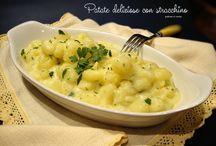 menù di patate