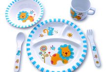 Kids Love Our Dinnerware Just For Them / Choose From Colorfully Decorated Lambs-Lions-Owls-Robots-Elephants  100% BPA-Free Melamine sturdy construction. Dishwasher Safe  Durable quality for daily, repeated use at home or on-the-go.  Will not easily break or crack, perfect for your toddler! Dishwasher Safe