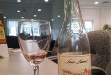 Wine at the Office ;) / Showcasing Wine at Luneau USA Inc
