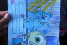 Dessin / Monsters & cie