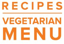 Vegetarian Menu May 2015 / Summer is a great time to be a vegetarian. Welcome the variety of new produce by stocking your freezer with easy, satisfying meals like Honey Veggie Tofu Veggie Stir Fry, 30 Minute Spinach Lasagna, or Sweet Potato Miso Energy Bowl. / by Once A Month Meals