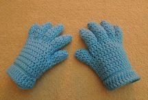 Crochet Gloves and mits