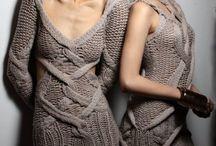 strikke kjoler