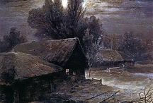 Zima / malarstwo