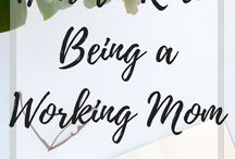 Working Moms Rock Too / Working moms rock! They go to work and still take care of home!