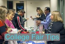 College Fair Tips / Tips for making the most out of attending college fairs.