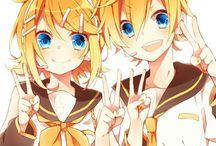 Len And Rin / O Casal de Vocaloids mais Fofo do Mundo! (≧▽≦)