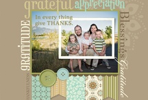 family scrapbook layouts