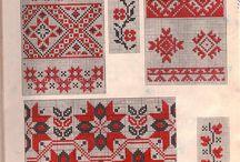 Staroruská kniha o výšivkách z roku 1880 a ine knihy