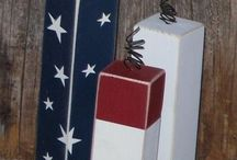 Patriotic diy and crafts  / by Steph Mulligan