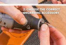 Inspiration For Engraving / Eager to start engraving? Or already an engraving master? These pins will help you get the most out of your next engraving project. Here's plenty of inspiration for you!