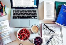 study space inspiration / need to change up your study space? here is some inspiration