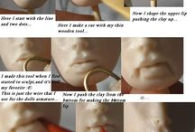 how to sculpt clay