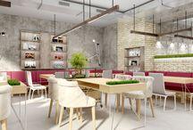 Loft / Дизайн ресторана в стиле лофт