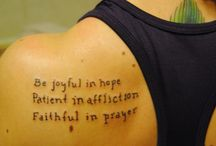 Tattoo / by Heather Williams
