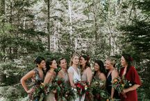 WEDDING | Bridesmaids Dresses / Inspiration for Bridesmaid Dresses