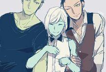 Catarina Loss, Ragnor Fell and Magnus Bane